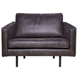 BePureHome Outlet - Rodeo fauteuil zwart