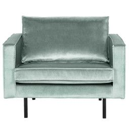 BePureHome Outlet - Rodeo Velvet fauteuil mint