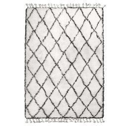 HKliving Black White Berber vloerkleed 180x280