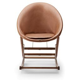 Carl Hansen & Son AB001 Leather schommelstoel