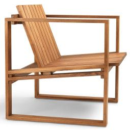 Carl Hansen & Son BK11 indoor-outdoor fauteuil