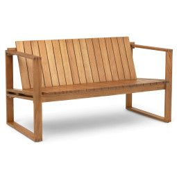 Carl Hansen & Son BK12 indoor-outdoor bank