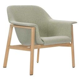 ClassiCon Sedan Oak fauteuil met Divina MD 45 stoffering