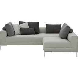 Design on Stock Aikon Lounge bank compact 3-zits + 1-zits 0-arm hoekopstelling