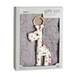 Done by Deer Quilt gift set