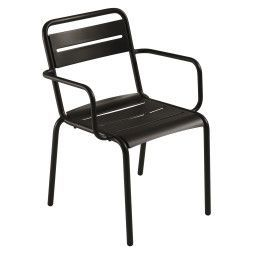 Emu Outlet - Star Armchair tuinstoel black