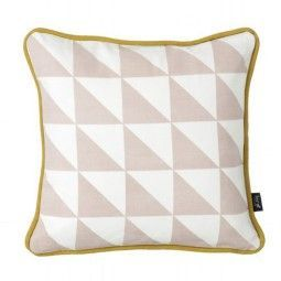 Ferm Living Little Geometry kussen roze 30x30