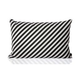 Ferm Living Black Stripe Cushion kussen 60x40