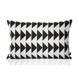 Ferm Living Black Arrow Cushion kussen 60x40