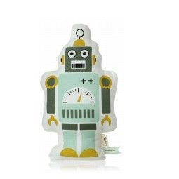 Ferm Living Mr. Small Robot kussen 40x22
