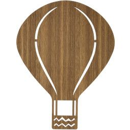 Ferm Living Air Balloon wandlamp eiken