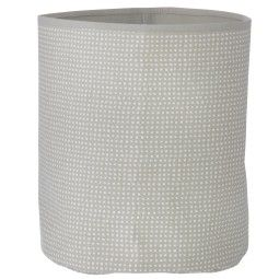 Ferm Living Grey Cross Basket mand medium