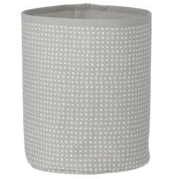 Ferm Living Grey Cross Basket mand small