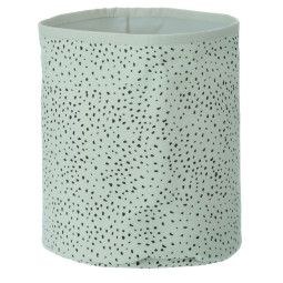 Ferm Living Mint Dot Basket mand small