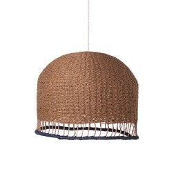 Ferm Living Braided hanglamp low