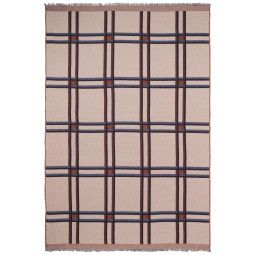 Ferm Living Checked Wool plaid