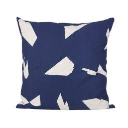 Ferm Living Cut Cushion kussen vierkant 50x50