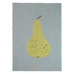 Ferm Living Outlet - Fruiticana Pear plaid 100x80