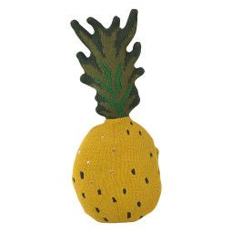 Ferm Living Fruiticana Pineapple kussen 38x17