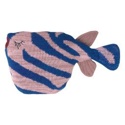 Ferm Living Fruiticana Tiger Fish kussen 27x27