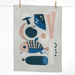 Ferm Living Grocery Tea Towel theedoek