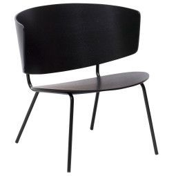 Ferm Living Outlet - Herman fauteuil zwart