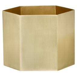 Ferm Living Hexagon plantenbak extra large