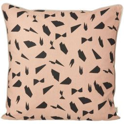 Ferm Living Mini Cut kussen rose 50x50