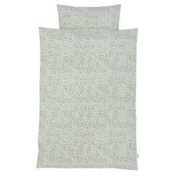 Ferm Living Mint Dot dekbedovertrek 140x200