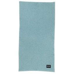 Ferm Living Organic badhanddoek 70x140 dusty blue