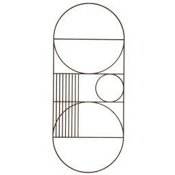 Ferm Living Outline wanddecoratie oval