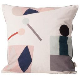 Ferm Living Party kussen off-white 40x40