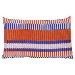 Ferm Living Pleat kussen 40x25 rust