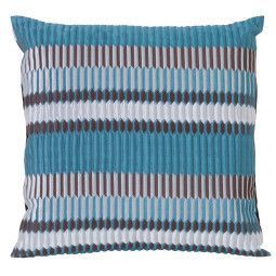 Ferm Living Pleat kussen 40x40 sea