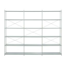 Ferm Living Punctual shelving system kast 3x6 dusty blue