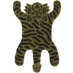 Ferm Living Safari tiger vloerkleed