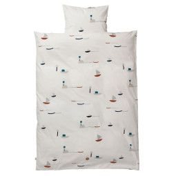 Ferm Living Seaside dekbedovertrek 100x140