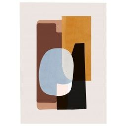 Ferm Living Abstraction 1 poster