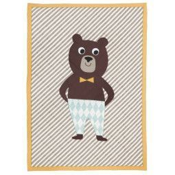 Ferm Living Bear Quilted plaid