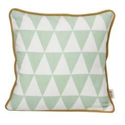 Ferm Living Little Geometry kussen mint 30x30