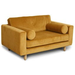 Avenue Love Seat bank Seven 23 geel