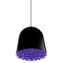 Flos Outlet - Can can hanglamp zwart, decoratie violet