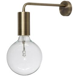 Frandsen Outlet - Cool wandlamp messing