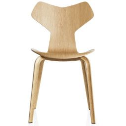 Fritz Hansen Grand Prix Chair Wood stoel naturel fineer