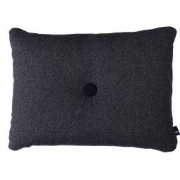 Hay Dot Cushion Hallingdal kussen dark grey 60x46