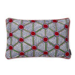 Hay Embroidered Cushion Cells kussen small 57x35