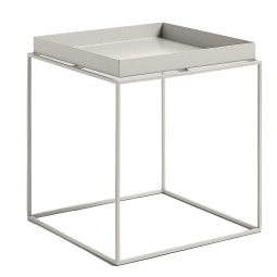 Hay Outlet - Tray Table salontafel warmgrijs medium 40x40