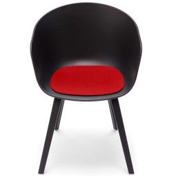 Hey-Sign Viltzitting voor about a chair anti-slip rood