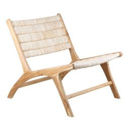 HKliving Abaca Lounge Chair fauteuil