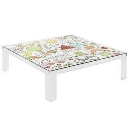 Kartell Invisible kindertafel 100x100